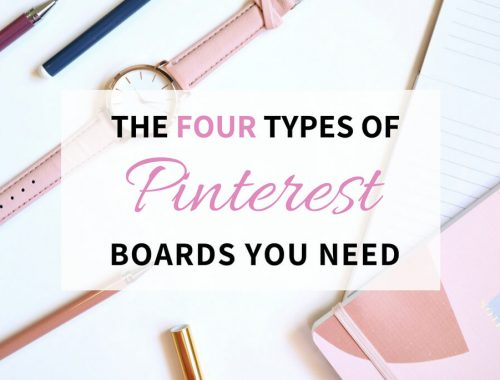 The Four Types of Pinterest Boards Every You Need