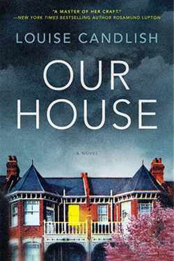 book cover for Our House by Louise Candlish