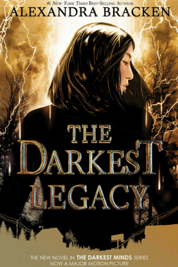 book cover for he Darkest Legacy by Alexandra Bracken