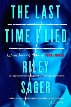 book cover for The Last Time I Lied by Riley Sager