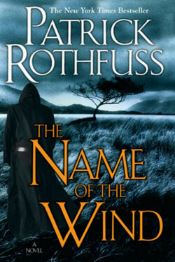 book cover for The Name of the Wind by Patrick Rothfuss