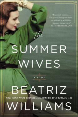 book cover for The Summer Wives by Beatriz Williams