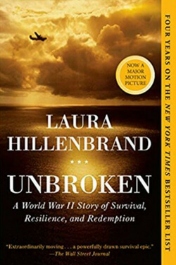 book cover for Unbroken by Laura Hillenbrand