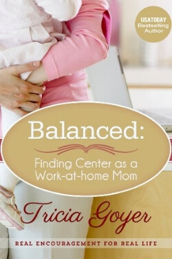 book cover for Balanced by Tricia Goyer