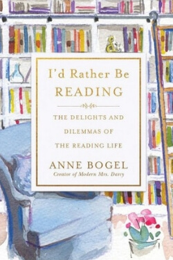 book cover for I'd Rather be Reading by Anne Bogel