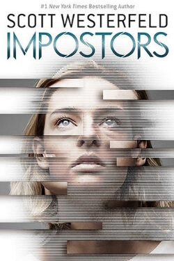 book cover for Impostors by Scott Westerfeld