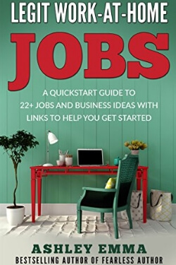 book cover for Legit Work at Home Jobs by Ashley Emma