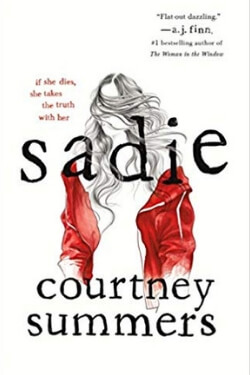 book cover for Sadie by Courtney Summers