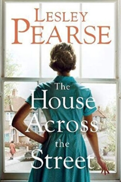 book cover for The House Across the Street by Lesley Pearce