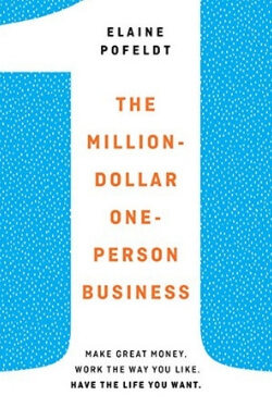 book cover for The Million-Dollar One-Person Business by Elaine Pofeldt