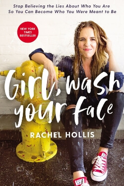 book cover for Girl, Wash Your Face by Rachel Hollis