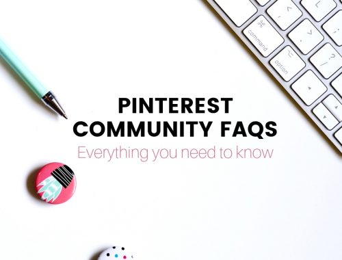 Have a million questions about the new Pinterest Community feature? Here is everything bloggers need to know about Pinterest communities.