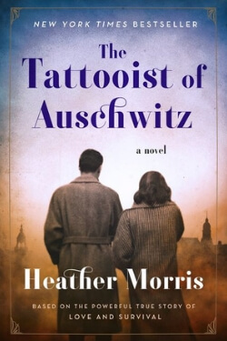 book cover for The Tattooist of Auschwitz by Heather Morris