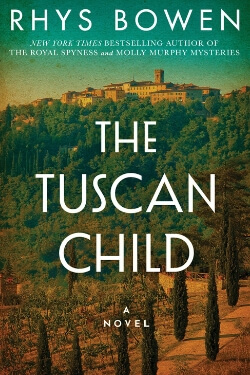 book cover for The Tuscan Child by Rhys Bowen