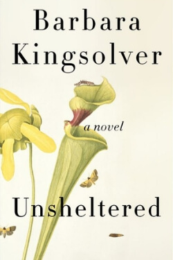 book cover Unsheltered by Barbara Kingsolver