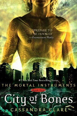 book cover City of Bones by Cassandra Clare