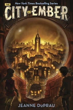book cover City of Ember by Jeanne DuPrau