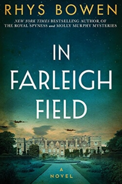 book cover for In Farleigh Field by Rhys Bowen