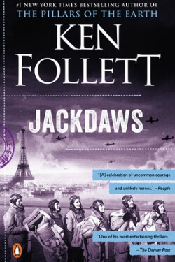 book cover Jackdaws by Ken Follett