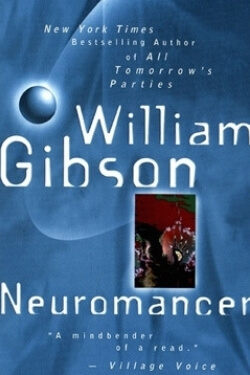 book cover Neuromancer by William Gibson