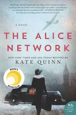 book cover for The Alice Network by Kate Quinn
