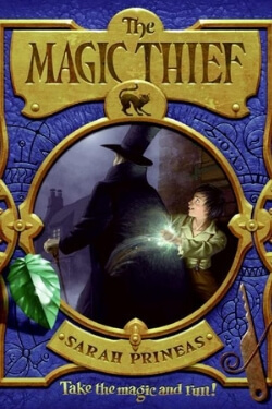 book cover The Magic Thief by Sarah Prineas