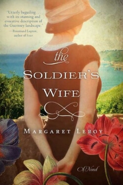 book cover for The Soldier's Wife by Margaret Leroy