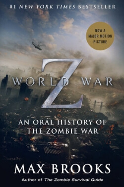 book cover World War Z by Max Brooks