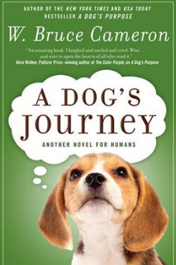 book cover A Dog's Journey by W. Bruce Cameron