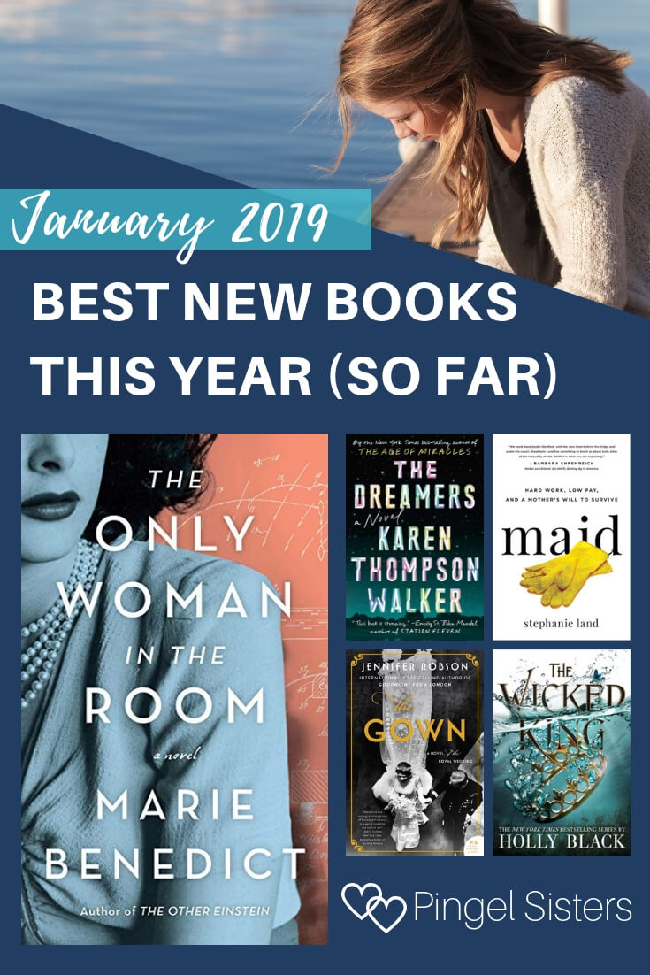 Best New Books This Year (So Far) // Find out all the January 2019 new releases that we think are the best new books this year ... or at least the best new books this year so far!