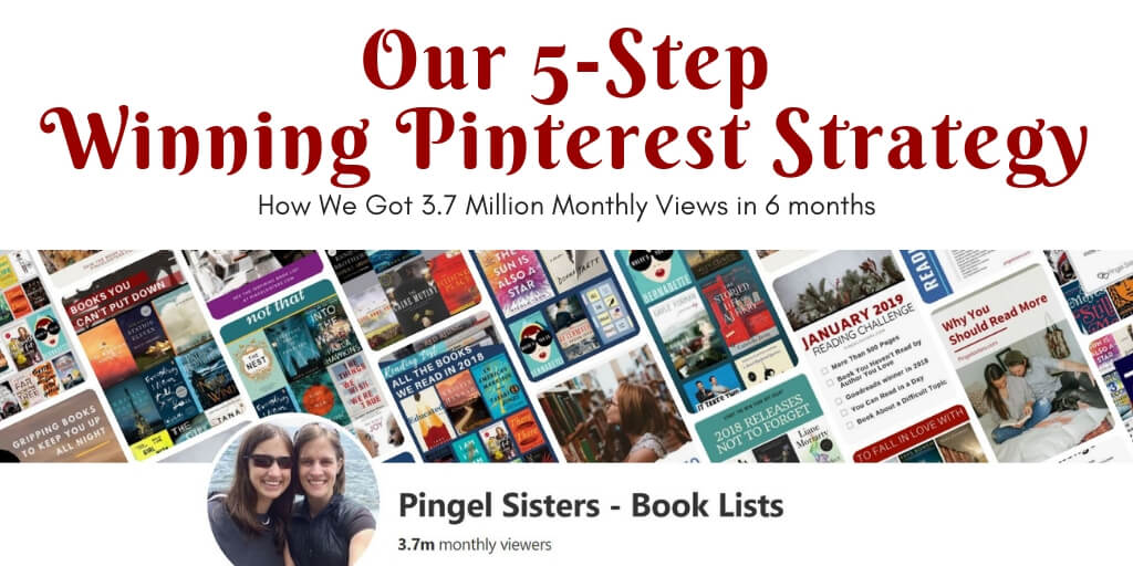Want to know our secret to blogging success? Find out our 5-step winning Pinterest strategy that got us 3.7 million monthly viewers on Pinterest.