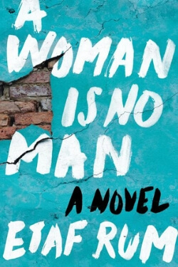 Book cover for A Woman is No Man by Etaf Rum