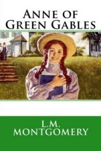 Book cover for Anne of Green Gables by L. M. Montgomery