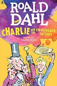 Book cover for Charlie and the Chocolate Factory by Roald Dahl