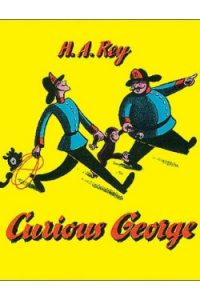 Book cover for Curious George by H. A. Rey