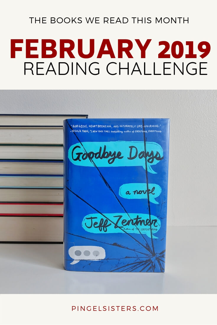 February 2019 Reading Challenge Update: Two months into 2019, and our reading challenge is going strong. From the four books Rachael choose this month, find out what she loved, and what she couldn't finish.