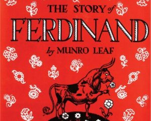Book cover for The Story of Ferdinand by Munro Leaf