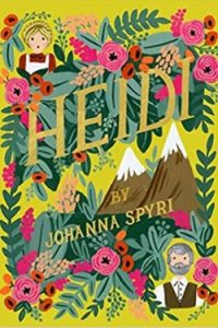 Book cover for Heidi by Johanna Spyri