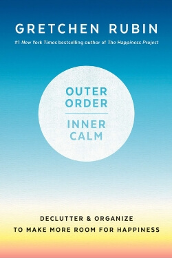 Book cover for Outer Order, Inner Calm by Gretchen Rubin
