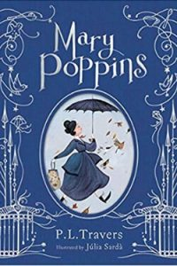 Book cover for Mary Poppins by P. L. Travers