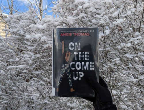 Book cover On the Come Up against snow covered trees