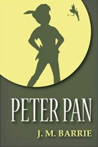 Book cover for Peter Pan by J. M. Barrie