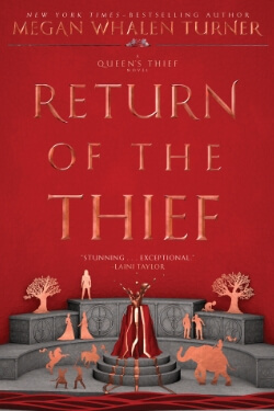 Book cover for Return of the Thief by Megan Whalen Turner