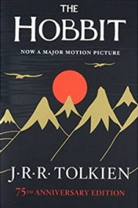 Book cover for The Hobbit by J. R. R. Tolkien