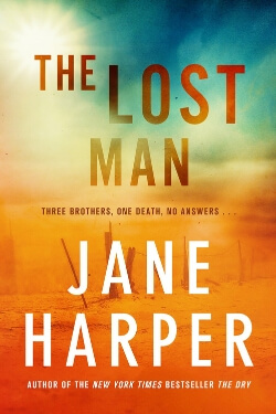 Book cover for The Lost Man by Jane Harper