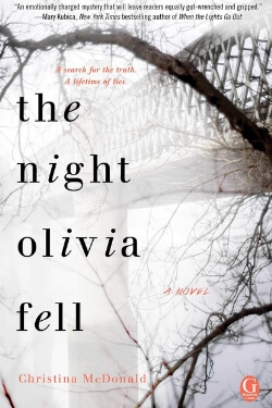 Book Cover for The Night Olivia Fell by Christina McDonald
