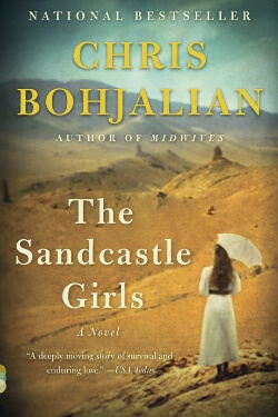 Book cover for The Sandcastle Girls by Chris Bohjalian