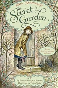 Book cover for The Secret Garden by Frances Hodgson Burnett