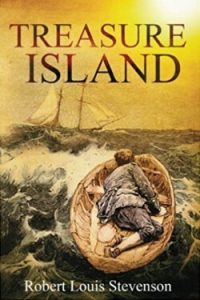 Book cover for Treasure Island by Robert Louis Stevenson
