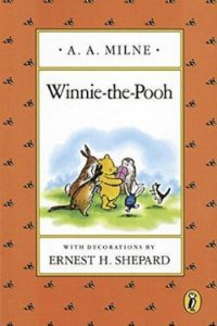 Book cover for Winnie-the-Pooh by A. A. Milne